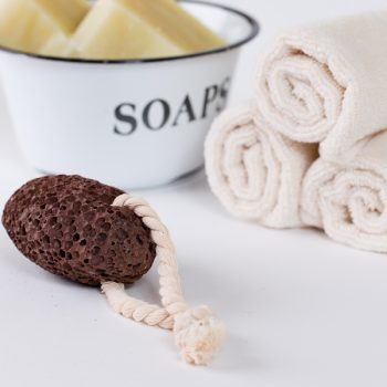 Second Nature Soaps Natural Black Pumice Stone