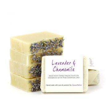 Lavender & Chamomile Mini Guest Soap (standard) 10