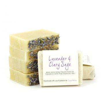 Lavender & Clary Sage Mini Guest Soap (standard) 10
