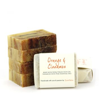 Orange & Cinnamon Mini Guest Soap (standard) 10