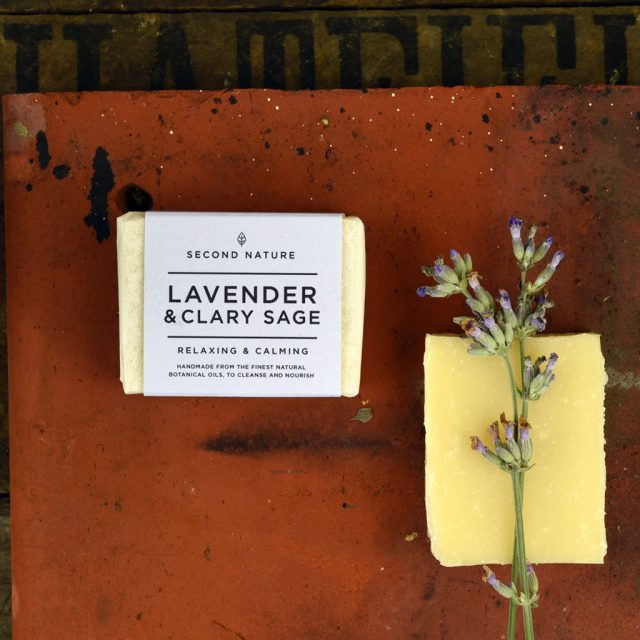 Mini Handmade Soap - Lavender & Clary Sage