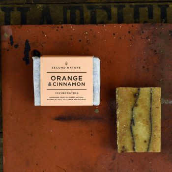 Mini Handmade Soap - Orange and Cinnamon