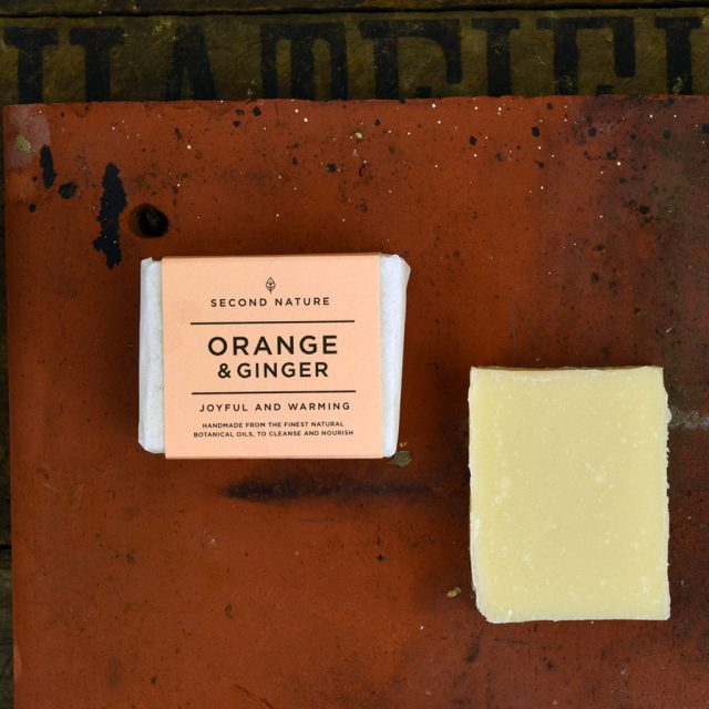 Mini Handmade Soap - Orange and Ginger