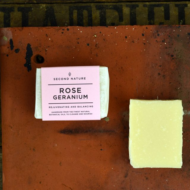Mini Handmade Soap - Rose Geranium