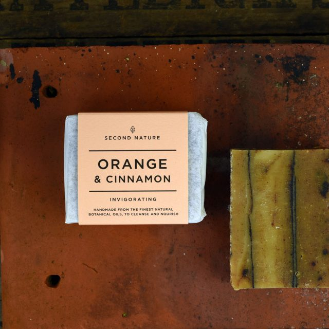 Handmade Soap - Orange and Cinnamon