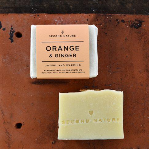 Orange & Ginger Handmade Soap
